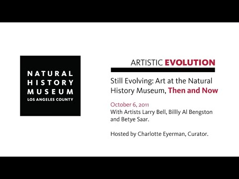 Artists Panel Discussion: Still Evolving: Art at the Natural History Museum, Then and Now