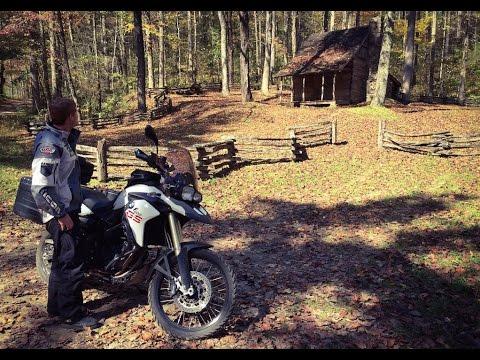 Backcountry Smoky Mountain Motorcycle Trip