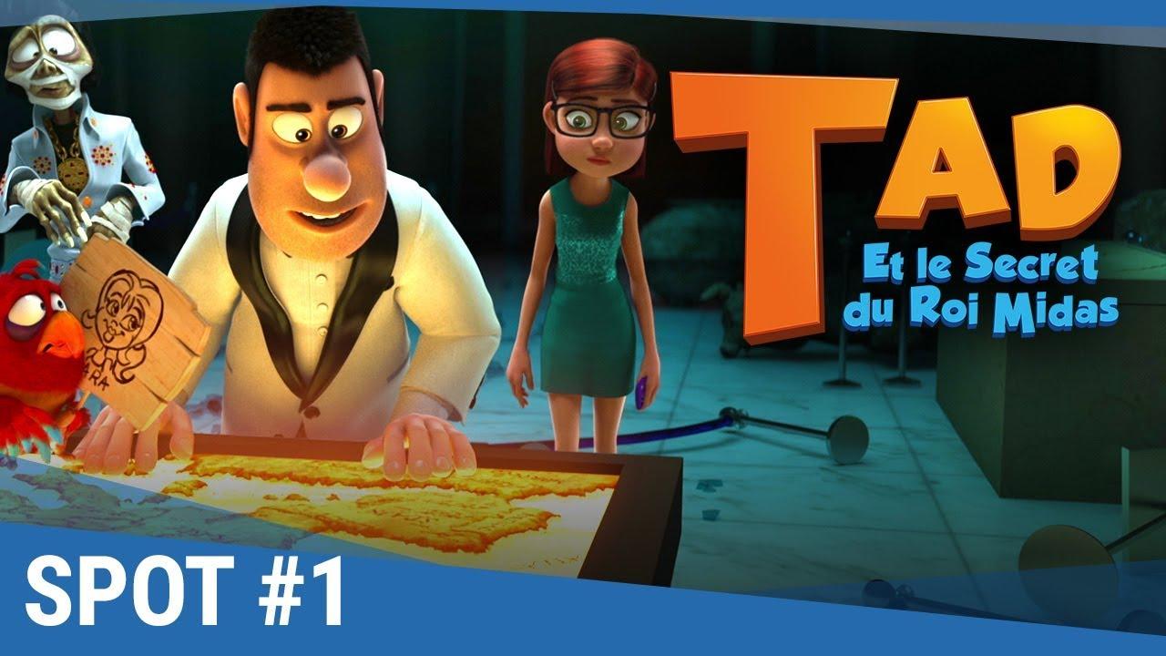 """TAD Et Le Secret Du Roi Midas - Spot """"Equipe de choc"""" VF [Actuellement au cinéma]"""