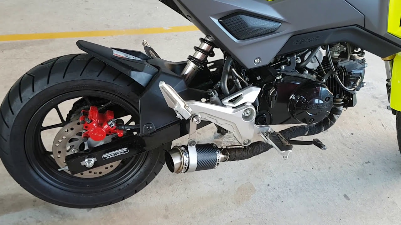 Grom with SC PROJECT exhaust