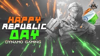 PUBG MOBILE LIVE WITH DYNAMO | HAPPY REPUBLIC DAY | SPONSORS & SUBSCRIBER GAMES TODAY