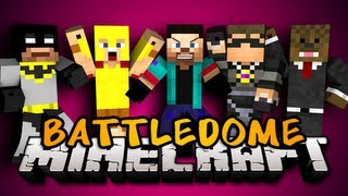 BEST BATTLE DOME EVER w/SkyDoesMinecraft, JeromeASF, xRPMx13, and Palmerater!