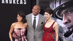 San Andreas: Dwayne Johnson, Alexandra Daddario, Carla Cugino & Cast Arrive to the World Premiere