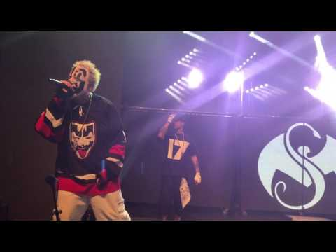 Insane Clown Posse introduces Tech N9ne and Krizz Kaliko in Detroit, MI