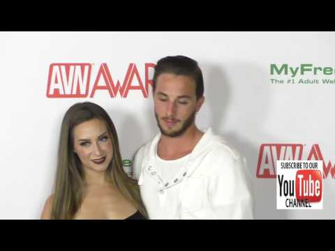 Cassidy Klein and Lucas Frost at the 2017 AVN Awards Nomination Party at Avalon Nightclub in Hollywo
