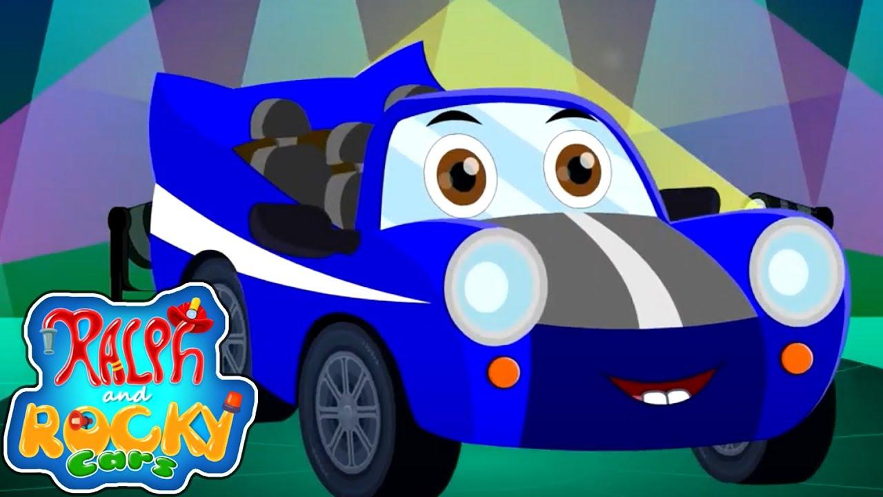 Race Car Song | Car Song | Nursery Rhymes and Children Song | Car Cartoon Videos For Babies