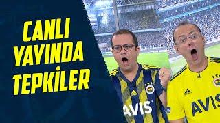 Bizimkilerin Canlı Yayında Tepkileri 😂 (Y. Denizlispor 1-2 Fenerbahçe)
