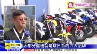 20160608中天新聞 台灣重機市場起飛 本土品牌捍主權