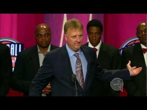 "1992 US Olympic ""Dream"" Team's Basketball Hall of Fame Enshrinement Speech"
