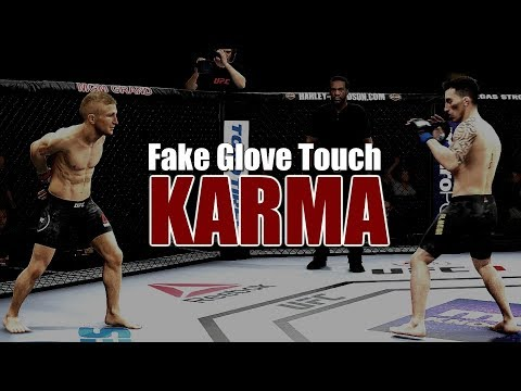 My Most Satisfying Fake Glove Touch Karma Yet!