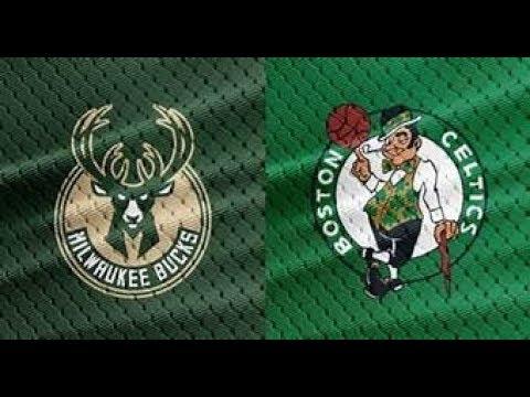 NBA LIVE STREAM: Boston Celtics Vs. Milwaukee Bucks Live Reaction & Play By Play Game 1