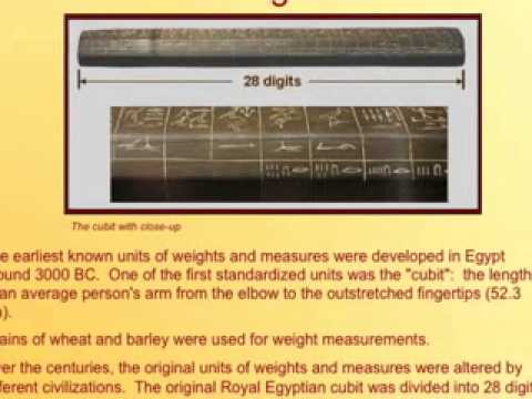 Weights and Measures Part I - YouTube