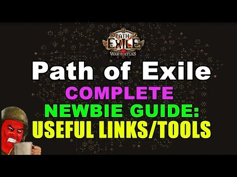 Path of Exile COMPLETE NEWBIE Guide 1: Useful Links & Tools