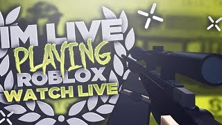 Roblox Live - Phantom Forces Grinding new AK's and Groza's!