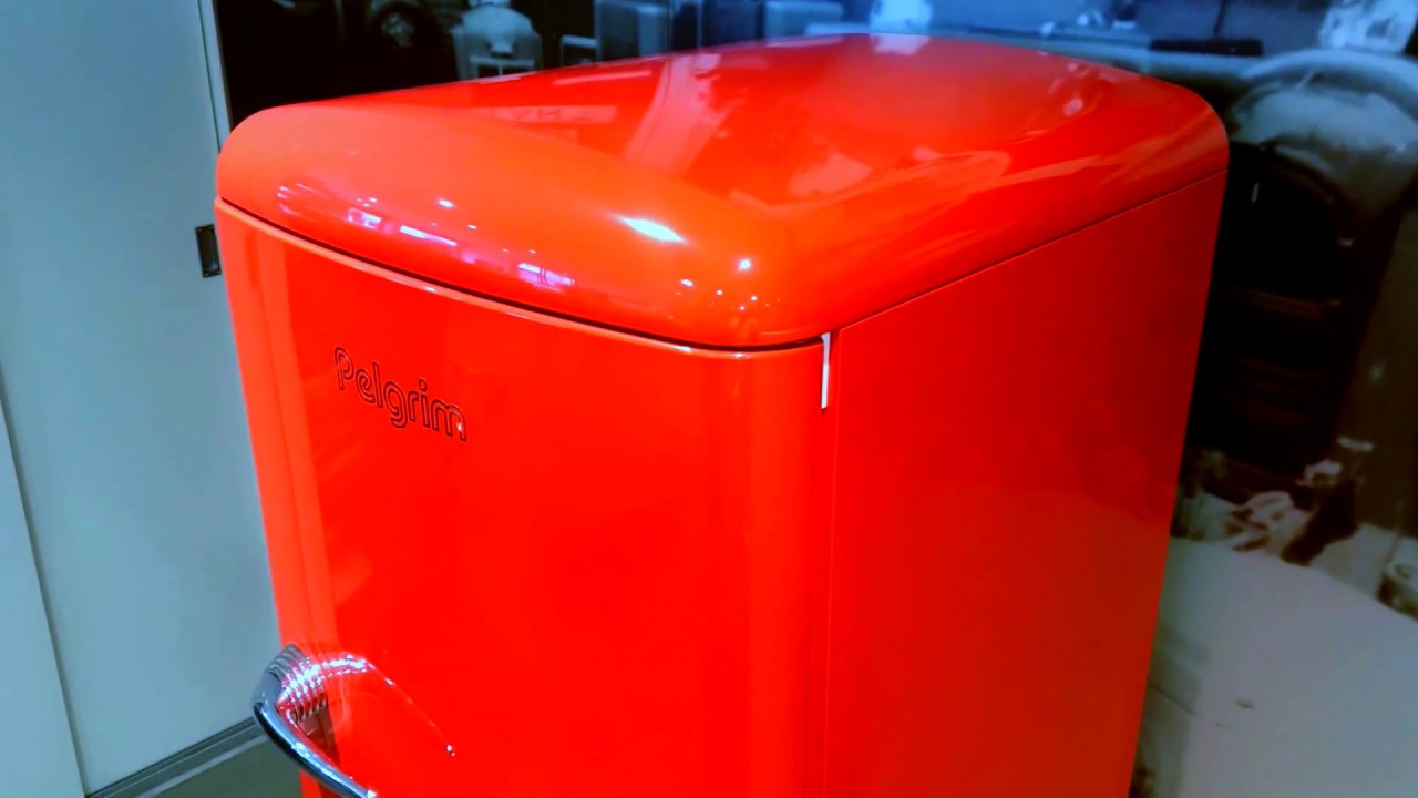 Retro Pelgrim Koelkast : Pelgrim pkv155roo koelkast de schouw witgoed youtube