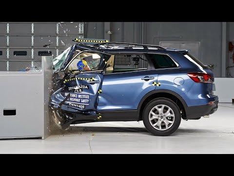 2014 Mazda CX-9 driver-side small overlap test