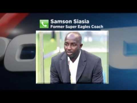 """Samson Siasia on """"The country has not done enough to remember what he did for the country."""""""