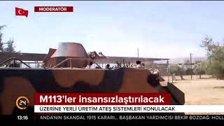 M113'ler insansızlaştırılacak