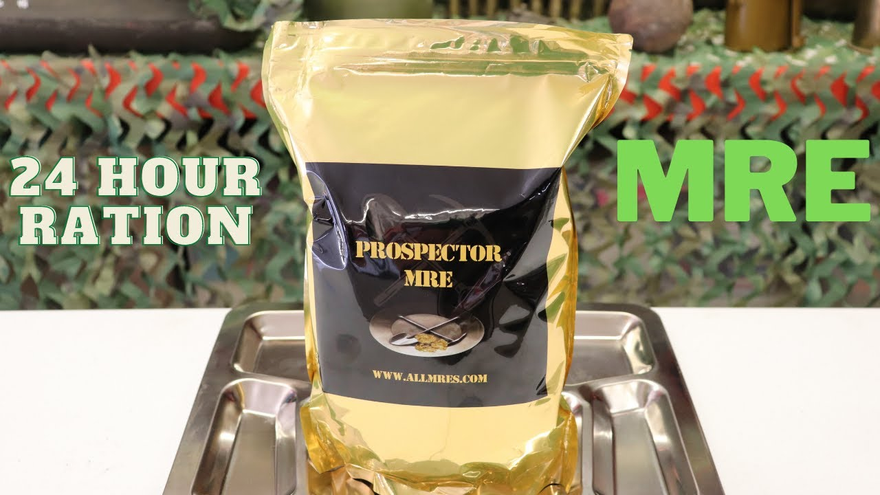 Download Prospector MRE one of the largest 24 hour Rations