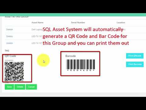 SQL Asset Management System Tutorial 3 Group Maintenance