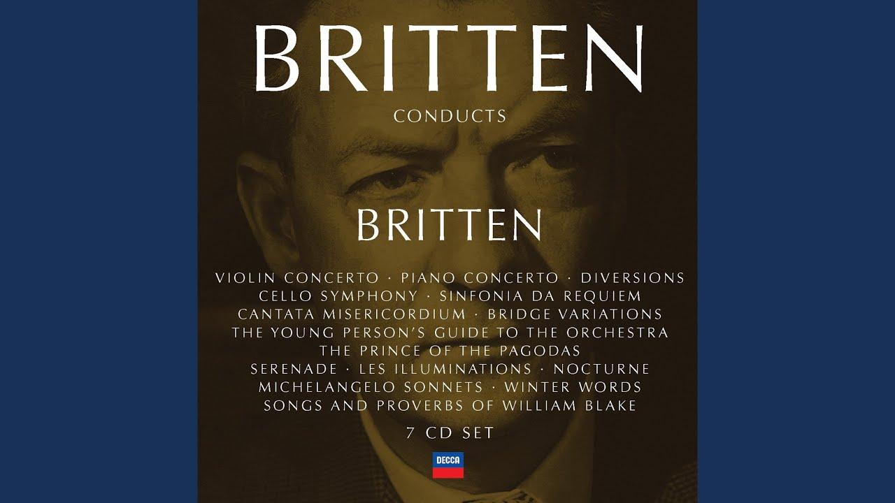 Britten: Winter Words, Op 52 - At the Railway Station, Upway