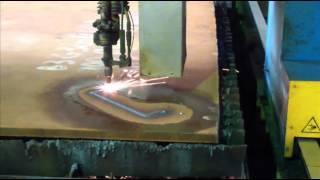 видео Плазменная порезка листового металла