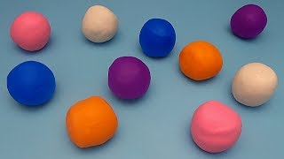 Fun Matching Game for Kids! Learn Colours with Play-Doh