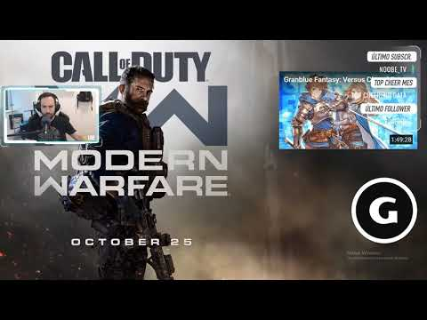 Reacción al trailer de COD: Modern Warfare.