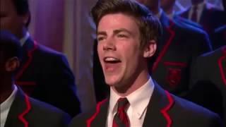 Grant Gustin singing