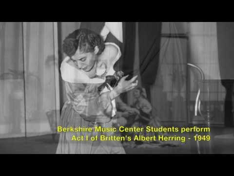 FROM THE TMC ARCHIVES: Albert Herring, Act I, Scene I - 1949