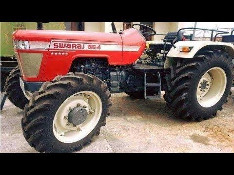 ddb48ed944f Swaraj 864 4WD tractor 65 hp। New Launch by Mahindra   Swaraj Tractors ।