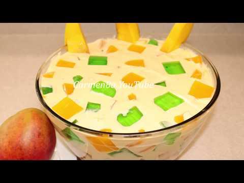 La Revancha De ensalada de Fresa 😁🙈  Ensalada de Mango