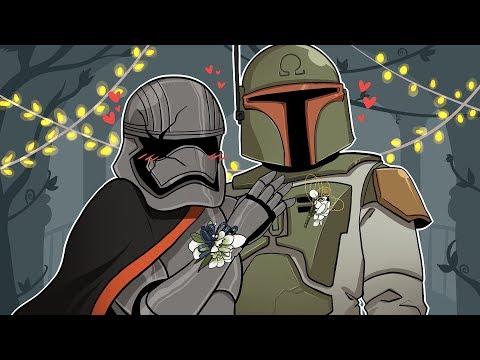 BOBA FETT GOT A PROM DATE! | Star Wars: Battlefront 2 (w/ Ohmwrecker)