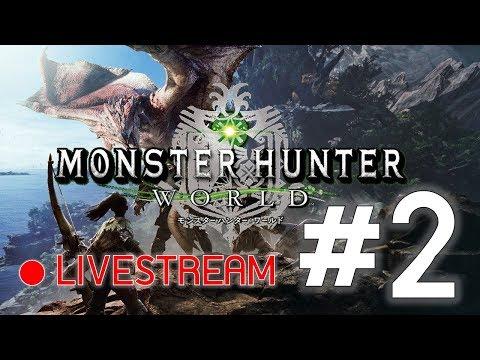 [LIVE] Monster Hunter World BETA   PS4   #2