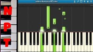 David Guetta ft. Skylar Grey - Shot Me Down Piano Tutorial (Including Drop) - How to play