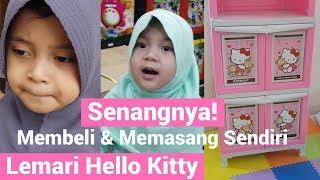 Senangnya! Membeli & Memasang Sendiri Lemari Hello Kitty