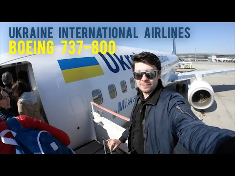 Ukraine International Airlines - Boeing 737-800