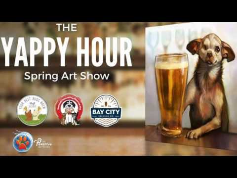 Spring Art Show Yappy benefiting Second Chance Dog Rescue!