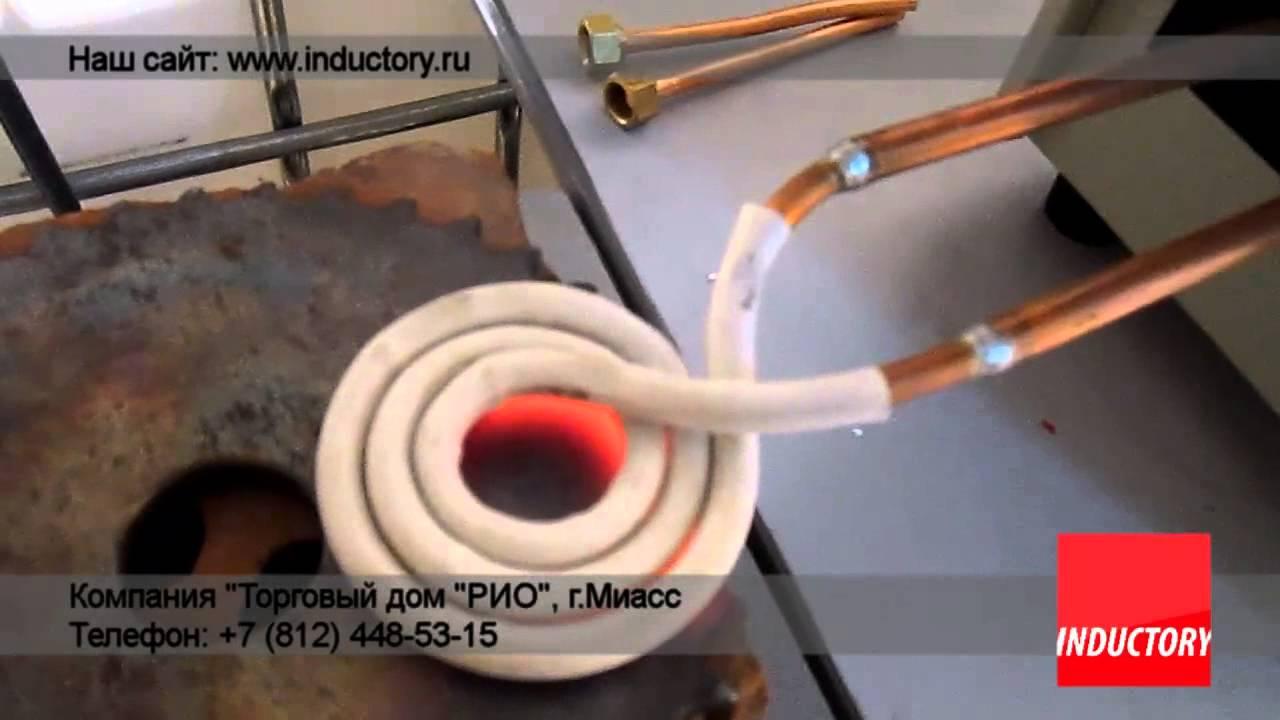 схема индукционного нагрева. на 12вольт
