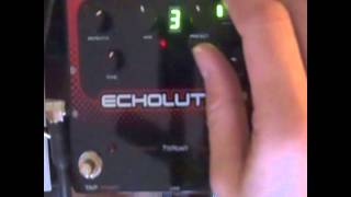 Pigtronix Echolution 2 delay presets demo