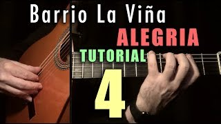 Mixed Technique Exercise - 8 - Barrio la Viña (Alegrias) by Paco de Lucia