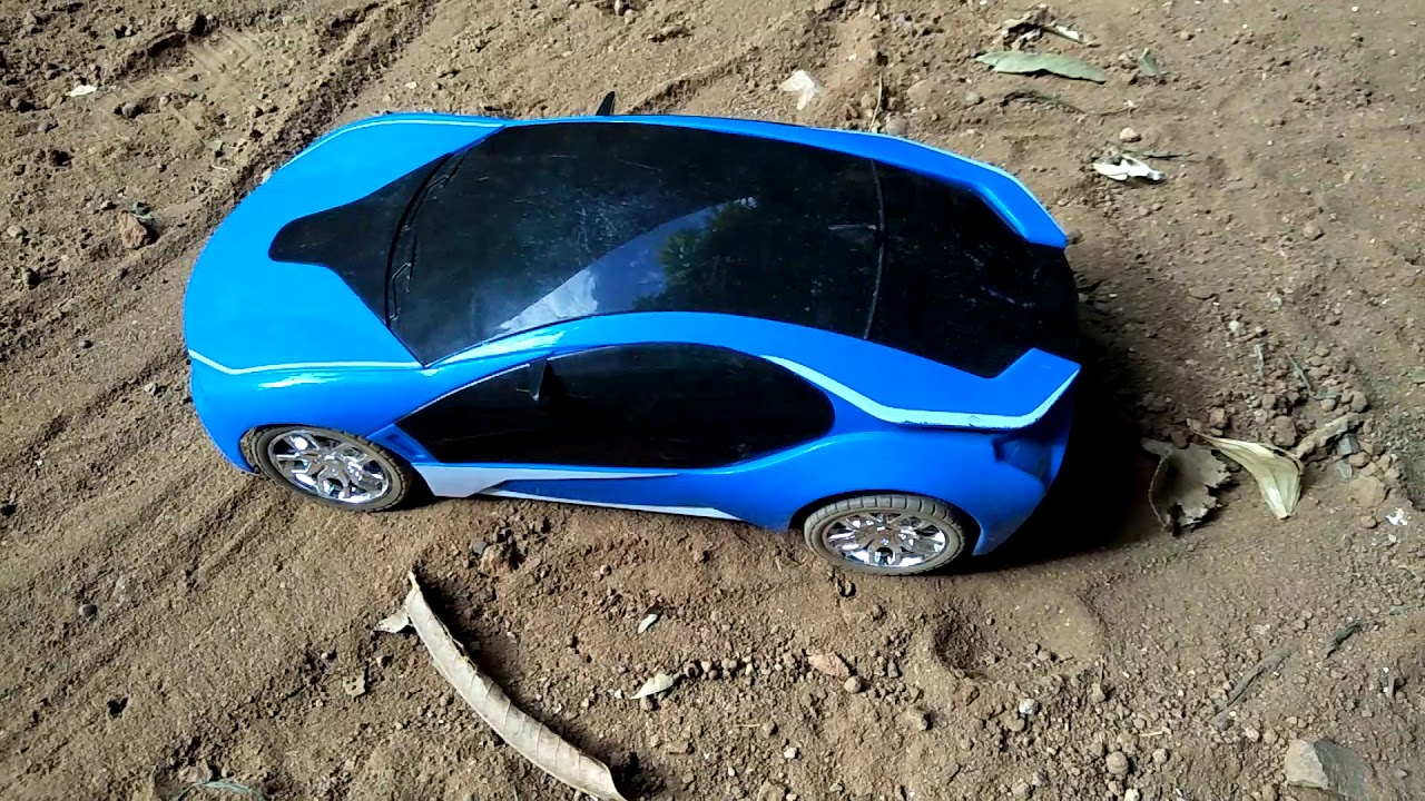 Off Road In Soil And Burnout The Rc Bmw I8 Car Youtube