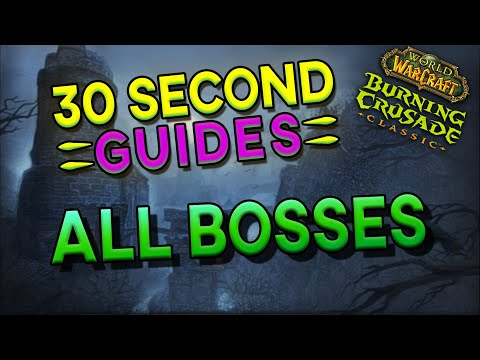 Karazhan All Bosses - 30 Second Guides!