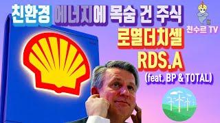 친환경 에너지에 운명을 건 주식 로열더치셸 - RDS.A, RDS.B