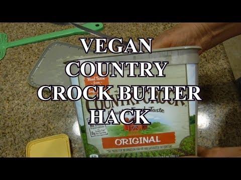 VEGAN COUNTRY CROCK BUTTER HACK