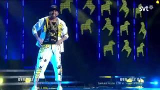 Sean Banan - Sean Den Förste Banan (Melodifestivalen 2012)