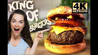 EVDE EN KRAL HAMBURGER'I YAPIN 4K (Basit & Pratik Gurme Burger)