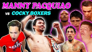 """""""Manny Pacquiao VS Cocky Boxers"""" (Reaction)"""