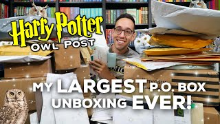 Harry Potter Owl Post | My LARGEST P.O. Box Unboxing EVER