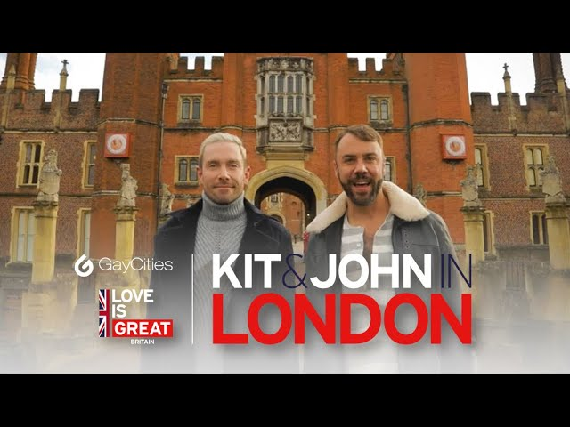 EastSiders' Kit Williamson & John Halbach's GREAT BRITISH ADVENTURE: London